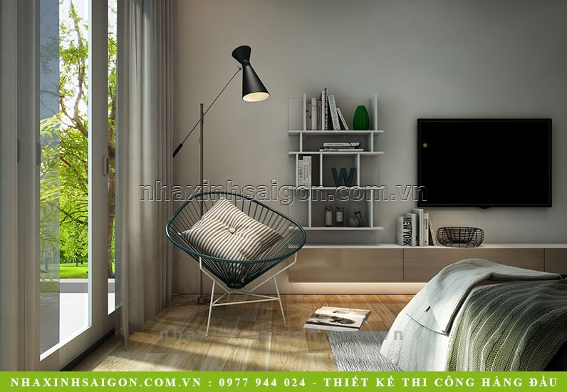 thiết kế nội thất phòng master, phòng ngủ