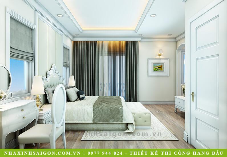 thiết kế phòng ngủ cổ điển con gái, ngôi nhà xinh