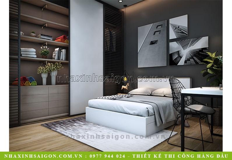 thiết kế phòng ngủ đẹp hiện đại, nội thất nhà xinh