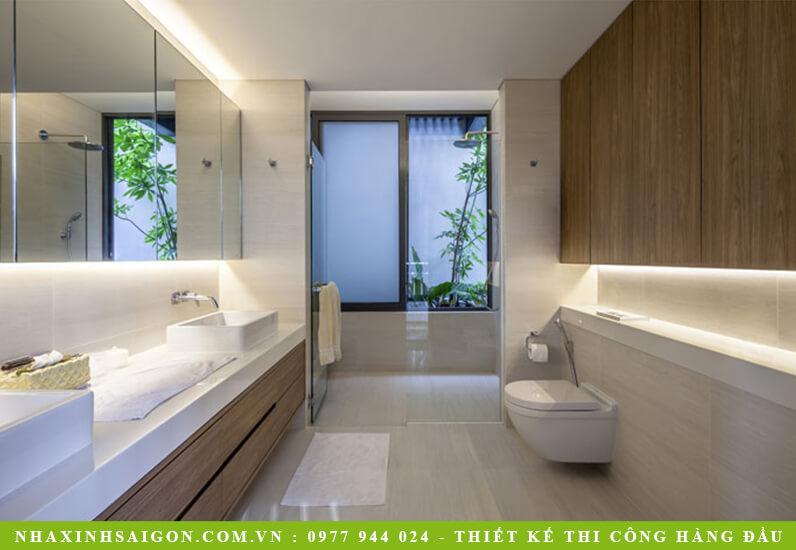 thiết kế phòng tắm đẹp, kiến trúc nhà xinh