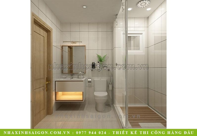 thiết kế phòng tắm vệ sinh đẹp
