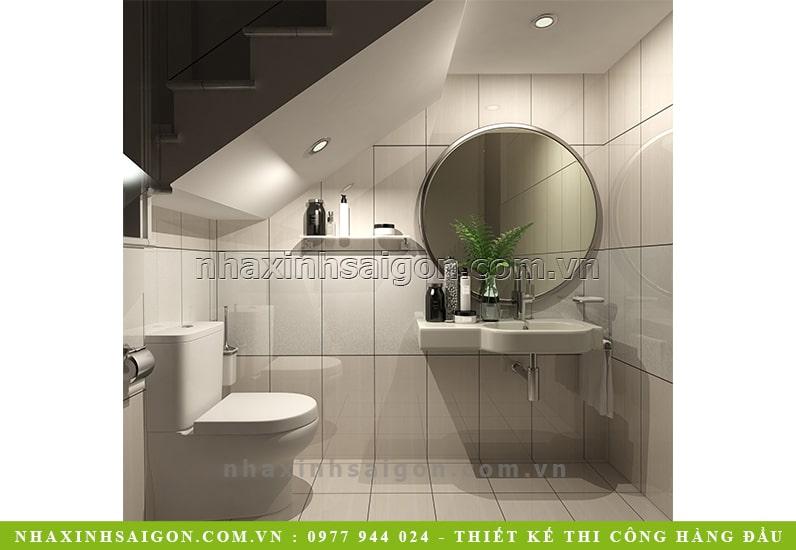 mẫu phòng vệ sinh đơn giản