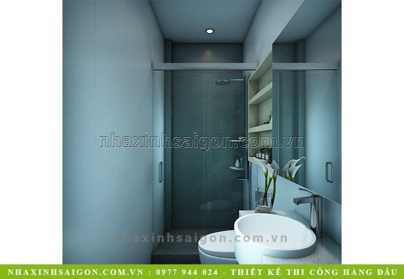 thiết kế phòng vệ sinh đẹp, nhà đẹp