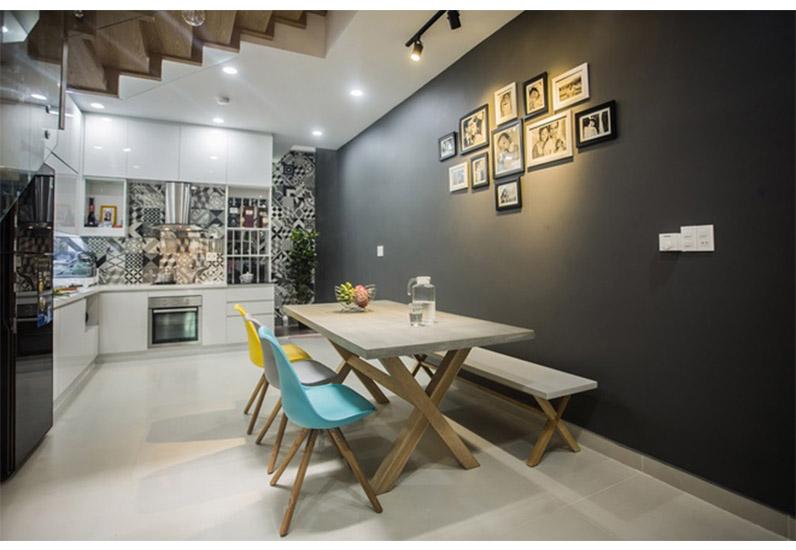 thiết kế phòng ăn đẹp, kiến trúc nhà xinh