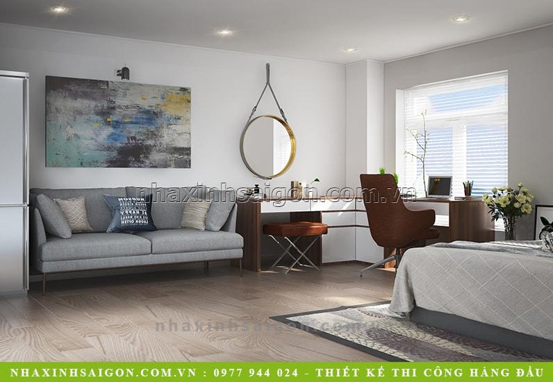 trang trí nội thất phòng ngủ, mẫu biệt thự đẹp
