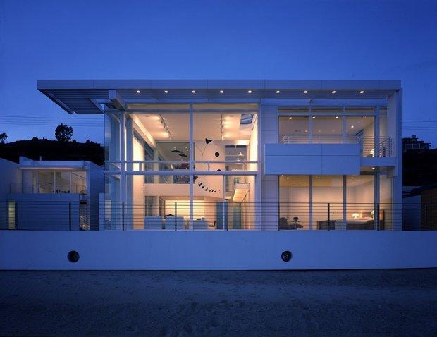 Biệt thự kính Richard Meirer gần biển