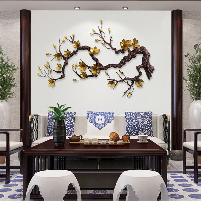 Canh Hoa Mai treo tuong
