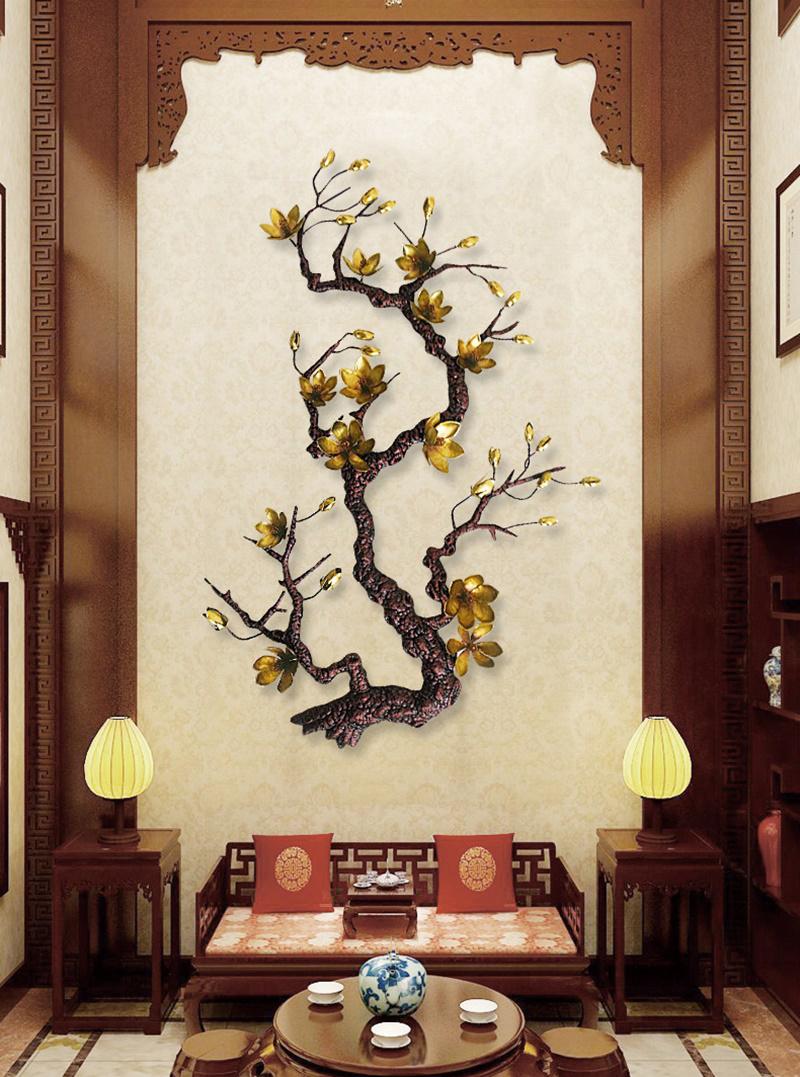 Canh Hoa Mai treo tuongLD39