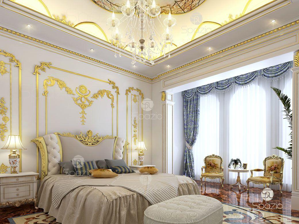 bedroom palace interior design 1