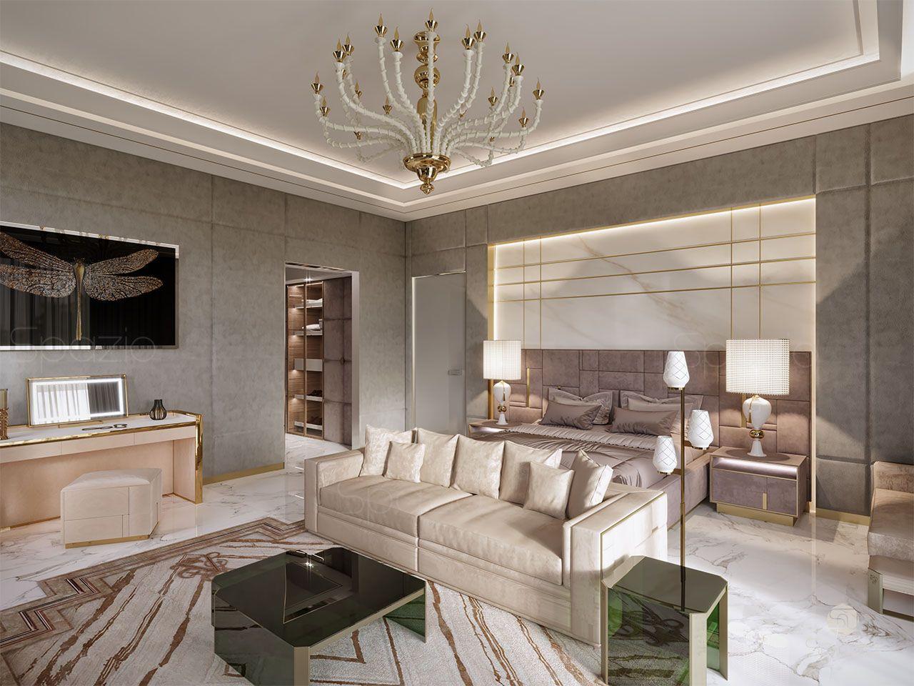 luxury master bedroom design 1